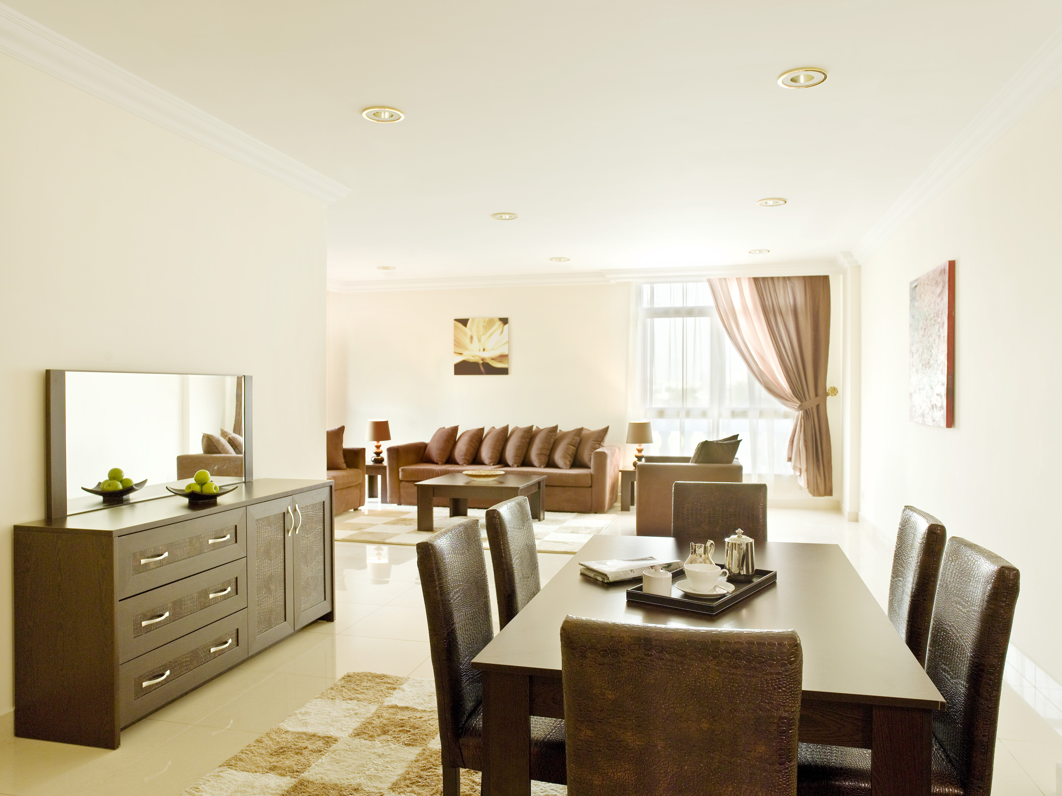 3 BHK - Living Room